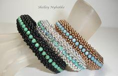 Love Triangle Bangle Bracelet  pdf by SturdyGirlDesigns on Etsy, $6.00