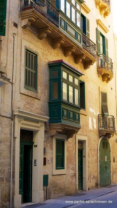 Cavendish School of English Malta Malta, English, Mansions, House Styles, School, Home Decor, Language School, Mansion Houses, Homemade Home Decor