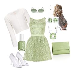 Stepping into Spring, created by kurtzbein on Polyvore- would wear with light pink shoes