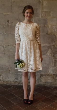 short-wedding-dress-with-sleeves