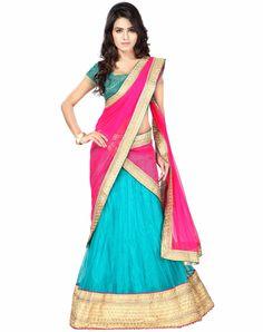 $63.42 Aqua Net Wedding Lehenga Choli 56468