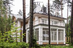 Russian Style, Breezeway, Detached Garage, Terrace Garden, House In The Woods, Sunroom, Cottages, Homesteading, House Plans