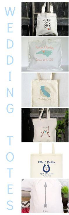 Wedding Tote Bags