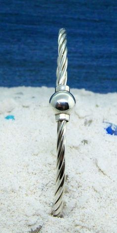 Sterling Silver Cape Cod Twist Bracelet