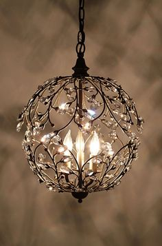 this chandelier makes my heart go pitter patter