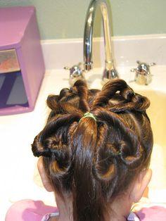 hairstylesbymommy...      For St. Patricks day