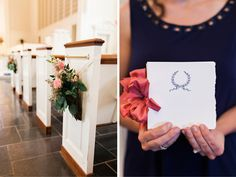 Mary Frances & David: Colorful Summer Wedding  #marieeamipaper #program