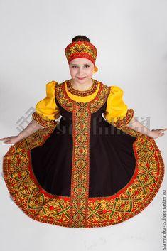 """Купить танцевальный костюм """"Перепляс"""" - русский стиль, рубаха в славянском стиле, косоворотка, сценический костюм"""