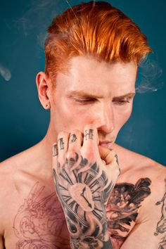 Jake Hold by Thomas Knights for his 'Red Hot' project. I love the colour and styling in this.