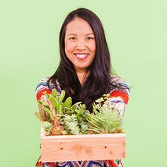 "Let your creativity take root as you create a succulent garden box with floral and botanical designer Cherie Marquez of <a href=""http://lafleurkitchen.com/"">La Fleur Kitchen</a>! Succulents are a low-maintenance way to liven up your indoor or outdoor areas, and Cherie's vertical gardening method is perfect for anyone tight on space."