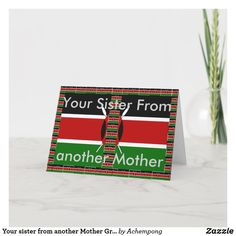 Christmas Away From Home, Masai Tribe, Flag Colors, We Are Together, Love You, My Love, Custom Greeting Cards, Thoughtful Gifts, Cute Art