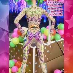 Katy Perry Prismatic World Tour Birthday OOAK Doll