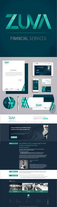 Financial Company Brand Design. Logo Design, Stationery Design, Letterhead, Business Card, Corporate Identity. Want to view more? Visit: www.marigoldstudios.co.za