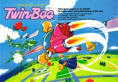 TwinBee, Konami #video #games