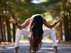 @laurasykora in the #AloYoga High Waist Moto Legging #yoga #inspiration