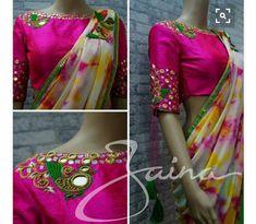 Women's Blouses for sale Fancy Blouse Designs, Blouse Neck Designs, Blouse Patterns, Mirror Work Blouse Design, Blouse Models, Before Wedding, Stylish Sarees, Indian Designer Wear, Clothes For Women