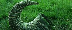 Andy Goldsworthy - leaves' horn