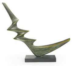 DENIS MITCHELL 1912 - 1993 PROBUS Inscribed with the initials DAM, dated 1971, titled and numbered 4/5 Bronze Height: 31 1/2 in. Conceived in 1971 and cast in an edition of 5.