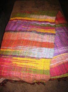 Saori weaving. Definitely on my list of things to do.