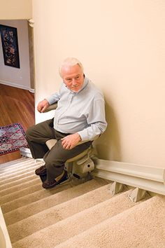Electra-Ride LT Straight Stairlift Photos