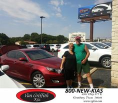 Chad is a wonderful salesman. Very personable and everyone here is great! We will definitely be coming back to Van Griffith KIA! Thanks again!  Bobby and Kim Thursday, August 13, 2015