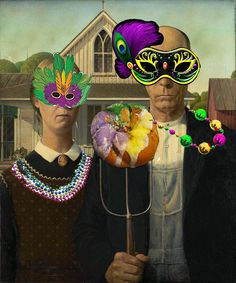 5th Grade - American Gothic Parodies with Photoshop | Art is Awesome!