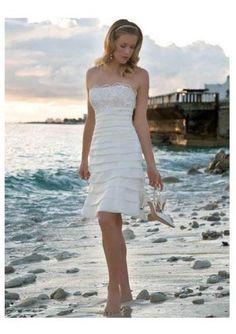 Sexy Beach Wedding Dresses