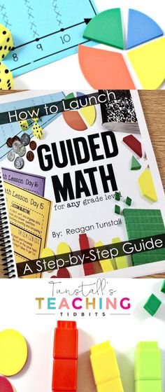 Curious how to begin teaching with guided math groups? This FREE step-by-step launch guide will tell you everything from managing small groups, setting up math stations or math centers, and teaching math lesson ideas! This FREEBIE is perfec Preschool Math, Math Classroom, Kindergarten Math, Fun Math, Math Games, Teaching Math, Math Activities, Elementary Math, Teaching Ideas