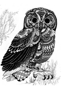 Wild Life Ink Illustrations | Abduzeedo | Graphic Design Inspiration and Photoshop Tutorials