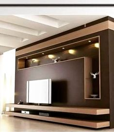 Modern and elegant TV wall design. Living room tv Boho So … Modern and elegant TV wall design. Living room tv Boho So … - Mobilier de Salon Tv Unit Furniture Design, Tv Furniture, Tv Unit Decor, Tv Wall Decor, Wall Tv, Tv Storage Unit, Tv Wanddekor, Tv Wall Cabinets, Modern Tv Wall Units