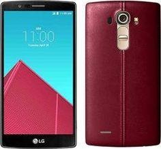 Telefon Mobil LG G4 H818 Dual Sim 4G Piele Rosie