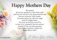 Mothers Day Sayings And Poems