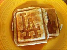 Dodger waffles