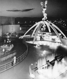 Neptune's Entrance to Pacific Ocean Park circa 1958 (from the book Venice of America by Jeffrey Stanton)