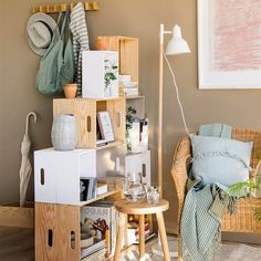 Ideas For Diy Muebles Cajas Dream Furniture, Furniture Design, Garden Ideas Homemade, Outdoor Bar Table, Room Interior, Interior Design, Dinning Chairs, Sweet Home, Home Hardware