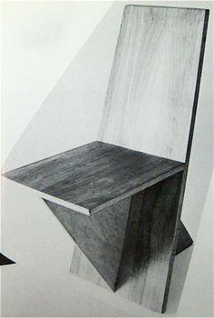 """Alwy Visschedyk """"Knock-Down Chair 1978"""