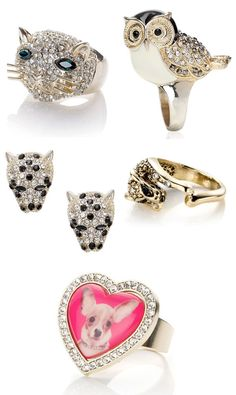 #jewelery cool, but what's with the stupid heart ring?!