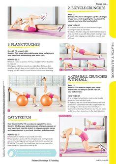 Health & Fitness Waist Sculpting Workout Part 2