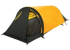 I wrote this Eureka Solitaire Bivy Tent review as one in the series about top bivy tents available on the market in 2017. This is a very lightweight 3-season bivy shelter with several unique features. It includes two hoops at either end, as well as two entrance points. Read more below.