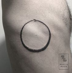 Ouroboros Side Tattoo