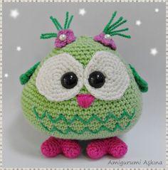 owl, búho, mussol, hibou #amigurumi #crochet #ganxet #tricot #knit #ganchillo