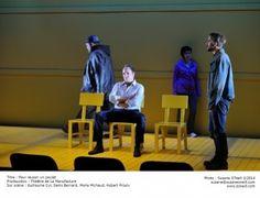 Pour réussir un poulet, Fabien Cloutier. Théâtre La Manufacture/Théâtre La Licorne. Jusqu'au 1er novembre