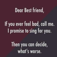 friendship quotes funny ~ friendship quotes & friendship quotes funny & friendship quotes meaningful & friendship quotes in hindi & friendship quotes inspirational & friendship quotes support & friendship quotes for boys & friendship quotes distance Besties Quotes, Cute Quotes, Girl Quotes, Bffs, Happy Quotes, Best Friend Quotes Funny Hilarious, Bestfriends, True Friends Quotes Funny, Tomboy Quotes
