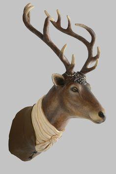 papier mache | ... : Vintage Inspired, Animal Papier Mache Sculptures by Melanie Bourlon