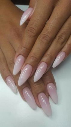 28 Gorgeous Almond Acrylic Nails You Won't Resist;almond nails long or short; 28 Gorgeous Almond Acrylic Nails You Won't Resist Almond Acrylic Nails, Almond Shape Nails, Long Almond Nails, Neutral Acrylic Nails, Pointy Acrylic Nails, Fall Almond Nails, Coffin Nails, Gorgeous Nails, Perfect Nails