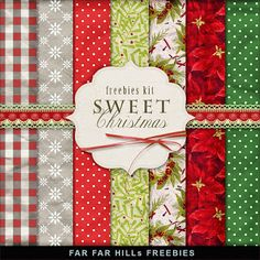 New Freebies Kit of Backgrounds - Sweet Christmas:Far Far Hill - Free database o. New Freebies Kit of Backgrounds – Sweet Christmas:Far Far Hill – Free database of digital illus Free Digital Scrapbooking, Digital Scrapbook Paper, Digital Paper Free, Printable Scrapbook Paper, Printable Paper, Free Paper, Digital Papers, Scrapbooking Layouts, Christmas Scrapbook Paper