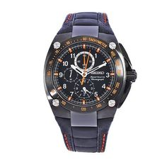 Seiko Men's SNAE37 Diver's Stainless Steel Black Chronograph Dial Watch Seiko. $307.31. Save 57% Off!