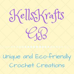Browse unique items from KellsKraftsGB on Etsy. Unique and eco friendly crochet creations Eco Friendly, Etsy Seller, Crochet, Unique, Manchester, Chrochet, Crocheting, Knits, Hand Crochet