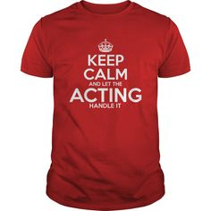 Awesome Tee For Acting T-Shirts, Hoodies. Get It Now ==> https://www.sunfrog.com/LifeStyle/Awesome-Tee-For-Acting-Red-Guys.html?41382