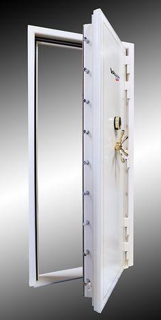 """Titan series 1"""" Solid Steel, 2"""" Step System Vault Door - Vault Pro USA"""